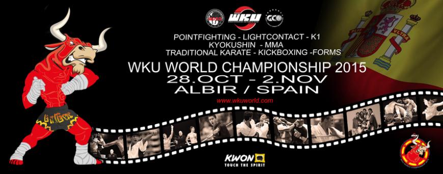 WKU World Champianship 2015 Albir I Spanien